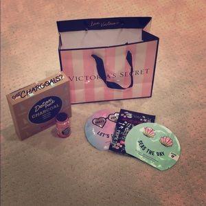 Victoria Secret Face Masks, Detox kit, Coco Stick